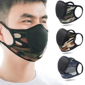 위장 광선이 통하지 못하는 페이스 마스크 재활용 안티 먼지 재사용 Mascarilla 스포츠 패션 입 호흡은 거즈 천 2 6kk B2 실행 보호가