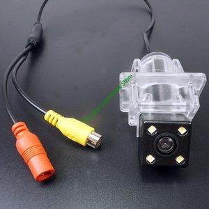 wire wireless waterproof ccd car reverse rear view backup camera For   C E W204 W212 W207 C207 2007~2014