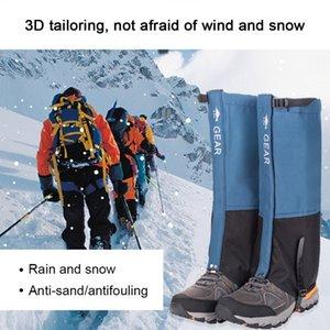 Hot 2020 Outdoor Chaussures de randonnée de ski Escalade imperméable Cyclisme Trekking Legging guêtres désert Bottes de neige Chaussures Covers