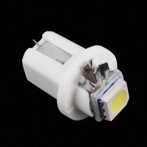 B8.5D 5050지도 한 SMD T5 LED 램프 자동차 대시 보드 악기 전구 DC 12V Y5Nk 번호