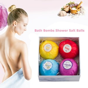 4pcs Natural Bubble Bath Salt Ball Elaborate Manufacture Prolonged Durable Bomb Whiten Moisturize Exfoliating Soap Gifts