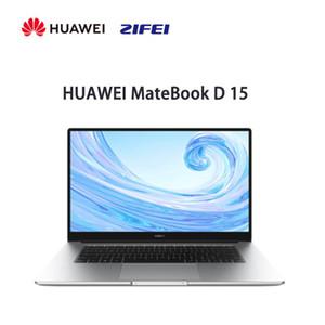 Оригинальный HUAWEI MateBook D 15 ноутбук 15,6 «полный экран независимый дисплей 16GB 512GB отпечатков пальцев разблокировать тонкий ноутбук