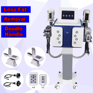 Makine ile Two Donma Yüksek Kalite Cryolipolysis Yağ Kriyoterapi Vücut Yağ Temizleme Cryo Zayıflama Güzellik Bakımı Ekipman kolları