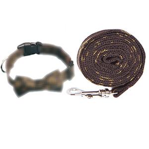 فاخر الكلب الياقات الحيوانات الأليفة القوس القط الكلب المقود تسخير مجموعة القوس عقدة جرو الكلب الياقات الجر بدلة تيدي بلدغ أفطس