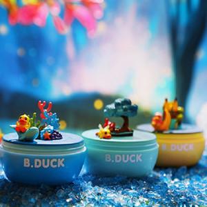 Caja de música de pato amarillo Caja de ciega Caja de los niños Rotación de música Caja de música divertida Twisted Toy Toy Decoration Decoration Niño Regalo