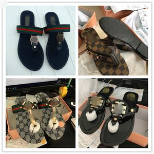 Vente Hot Chaussures Femmes PU Unicornio Lames LVGGNouveau Tongs Sandales Summer Beach doux Tide Lady Chaussures Chaussons