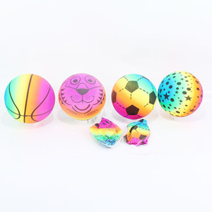 2pcs Boy Girl Toy Soccer Ball Toddlers Kids Inflatable PVC Soft Sports Balls