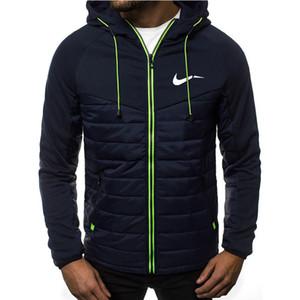 New Art und Weise Hoody Jacke HH Printed Männer Hoodies Sweatshirts beiläufige Mantel mit Kapuze Strickjacke mit Reißverschluss Plus-Fleece-Marken-Kleidung