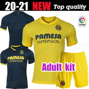 Adult kit 2020 Villarreal CF S.CAZORLA Soccer Jerseys 20 21 Home CHANGE FORNALS Soccer Shirt PEDRAZA MORENO CAMP IBORRA Football