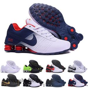 высокое качество Новый Shox Deliver 809 мужчин кроссовки Дешевые Известные DELIVER OZ NZ Мужчины кроссовки Черный Белый Синий Увеличение воздуха Чистка HTD9V