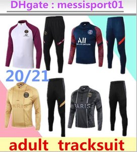 2020/21 Paris TRACKSUIT Trainingsanzug Mbappe survêtements SWEATER 2020 2021 Frankreich Paris Trainingsanzug Größe S-XL chandal Set