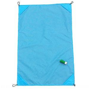 Plaj piknik mini katlanır cep battaniye renk Yemek yemek bahar tur çim mat tırmanma mat H0f5D