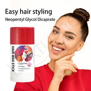 Cire cheveux Bâton Edge Control cheveux Finition Bâton Flyaway Baguette naturel Long Lasting bébé mince cheveux Styling Gel Wax Clay Crème