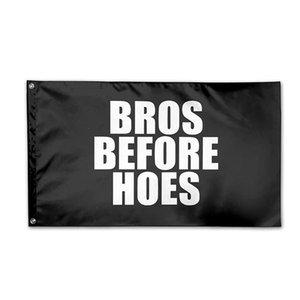 Hoes Before Bros Flag 150x90cm 3x5ft Printing Polyester Club Team Sports Indoor With 2 Brass Grommets,Free Shipping