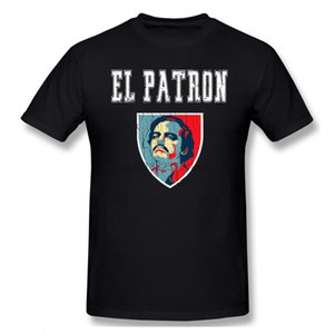 Pablo Escobar эль-покровители мужчин футболки любителей рубашки моды 4xl 5xl 5xl хлопка на заказ короткий рукав рубашки мужчины