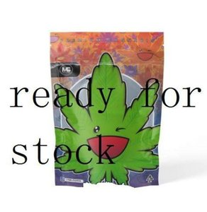 METRO BLOOMIN Mylar Childproof Bags 420 Packaging Connected Cookies Bag Stand Up Pouch Dry Herb Flowers Childproof Bags Packaging Connected