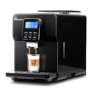 Coffee Makers Fully Automatic Espresso Machine Bean Grinder 19Bar Steam Cappuccino Latte Italian