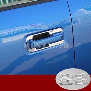Pour Ford F150 F150 ABS 4dr latéral Poignée de porte Bowl Garniture de couverture 2015-2019 8pcs