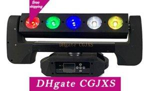 2adet En Yeni Işın Bar RGBW 4in1 Piksel Led Head Light Hareketli Hareketli Kafa 5x40w Led Moving 5 Gözler Led Işın
