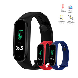 Hot Selling M4 Smart Bracelets Watches Men Women Blood Pressure Wristband Sleep Tracker Band Sport Fitness Pedometer for Family Kids Gifts