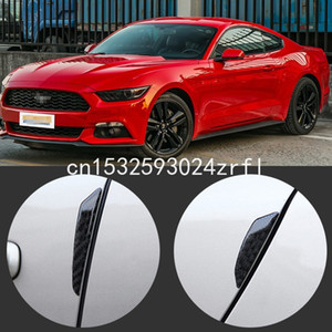 Pour Ford Mustang Side Car Garde bord porte pare-chocs Garniture Protecteur fibre de carbone PVC Stickers