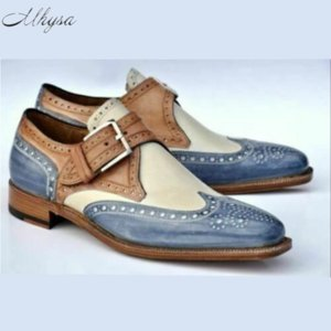 2020 Autumn Herren-Leder-beiläufige Schuh-Mode-Männer Kleid Schuhe Mann-Qualität Buckle Oxford Schuhe Herren Schuhe De Hombre