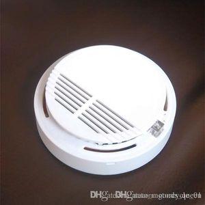 Detector de humo Alarma de incendio alarmas del sistema sensor detectores inalámbricos Casa sola de seguridad de alta sensibilidad estable LED W 85DB batería de 9V 50