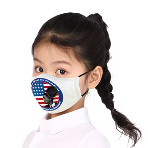 A Printed Kanye West Face Mask Can Be Fitted with A Filter and Valve. A Children's Washable Respirator