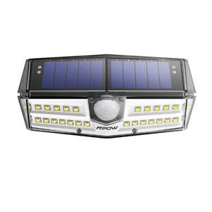 30 LED Сад Солнечный свет Водонепроницаемый солнечной лампы Wide Angle Солнечные датчик движения Безопасность Свет для Yard Pathway Гараж / Бассейн