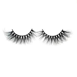 HX 2020 100% Mink Wimpern Natürliche Gewirr Cruelty 4D falsche Wimpern Make-up handgemachte gefälschte Augenwimpern