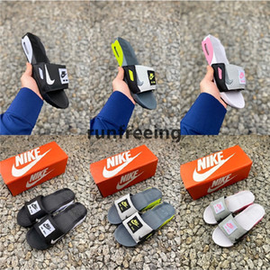 2020 Nike Max 90 Slide Smoke Grey Volt Black White Rose Cool Grey Men Women 90s max90 slippers Home Casual Shoes luxury designer shoes AIR