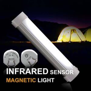 Carp vivac ligera que acampa de control remoto lámpara que acampa magnético fuerte USB Rojo Color Blanco Carpa recargable Pesca Luz