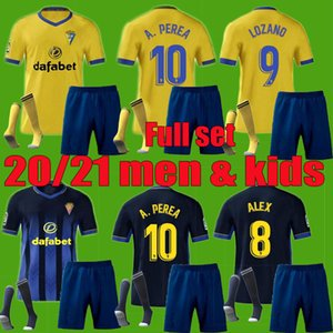 2020 2021 de football Cadiz CF 20 21 CADIX LOZANO ALEX Bodiger Juan Cala CAMISETA ASCENSO Un homme chemises de football LIGA Kit enfants