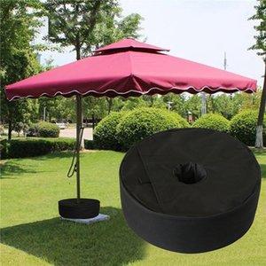 텐트 Sun 대피소 파티오 차양 라운드 우산 자료 무게 가방 방풍 모래 주머니
