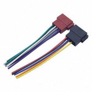 1 Çiftler Universal Araç Stereo Kadın ISO-Radyo Fiş Adaptörü Kablolama Kablo Stereo Harness Modifiye Kuyruk Hattı JfR9 #