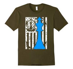 재미있는 남자의 t 셔츠 여성 참신 t- 셔츠 체스 T 셔츠 - 체스 플래그 셔츠 T 셔츠