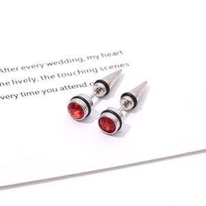 Magnetic orecchini coreana della moda di New titanio d'acciaio anti-allergici G-Dragon Ear Stud multicolore a punta cono Proiettile Uomini e Donne Ear Long St