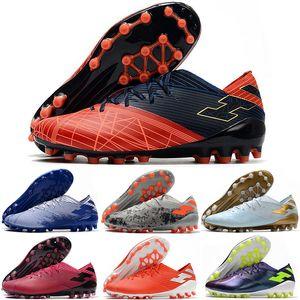 Futbol Ayakkabı calcio Nemeziz 19.1 Erkek AG ucuz orijinal Futbol Profilli Futbol Boots Eğitmenler Açık Deri scarpe US6.5-11