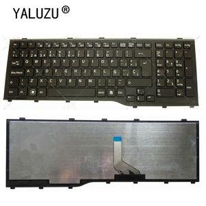 YALUZU New SP Laptop Keyboard For FUJITSU Lifebook AH532 A532 N532 NH532