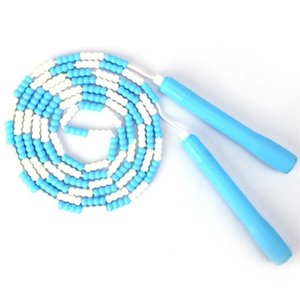 1PCS Kids Plastic Beaded Segmented Jump Rope Fit Training Workout Cuerda Para Saltar Profesional Excercise and Fitness