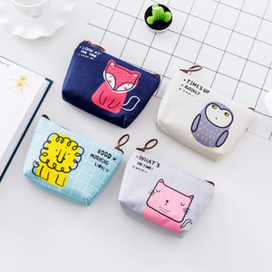 Coin Purses Women Wallets Small Cute Cartoon Animal Card Holder Key Bag Money Bags for Girls Ladies Purse Kids Children
