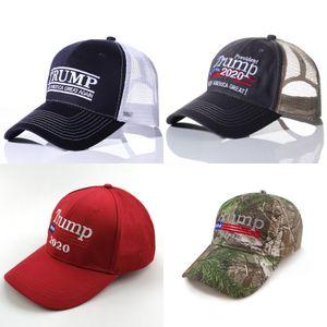Nuevo Donald Trump Hat 2020Keam America Great Camo gorras de béisbol ajustable barato # 301