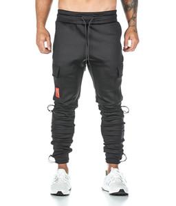 Мужские брюки ASRV бегуны Новый Повседневный Длинные Спорт Комбинезоны дышащий печати Муж быстро сухой работает брюки размер M-3XL