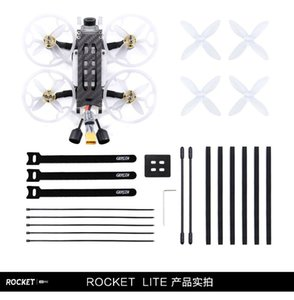 GEPRC Rocket Lite Cinewhoop FPV Racing Drone 112mm F4 4S 2 Inch BNF With Vista 720P Digital HD Unit RC Helicopter Toy