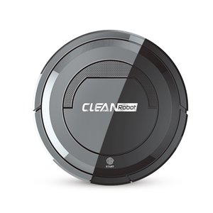 Home Smart Ultra-Thin Small Charging Vacuum Cleaners ing Robot Automatic Home Cleaning Machine Robot Vacuum Cleaner Black
