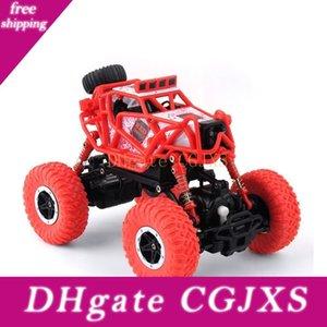 Hot Toys Rc Camiones 2 .4ghz coche teledirigido 4WD Bigfoot Escalada Off -road carro de RC automóviles de juguete para los muchachos