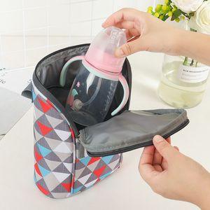 SeckinDogan Bebek Bezi Çanta Isı Yalıtım Bebek Arabası Çanta Su geçirmez Nappy Organizatör Çanta Taşınabilir Anne Çantası