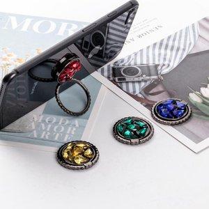 Dedo cgjxs Nueva universal estilo del diamante del metal teléfono celular titular de soporte del soporte del anillo de agarre con los dedos de anillo soporte de DHL