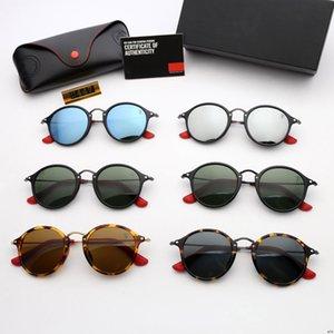2447 proibições proibir Hot Ray Óculos de sol Vintage Pilot Marca óculos de sol Banda polarizado UV400 Homens Mulheres wayfarer Ben catear óculos de sol novos