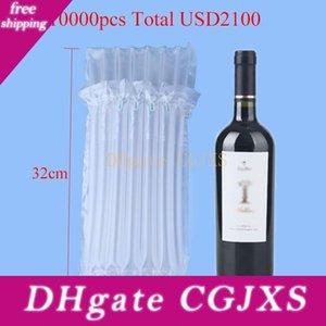 DHL Fedex 32 * 8cm Air Dunnage Bag Air Filled almofada de proteção Wine Enrole Air coluna de mudança de Bolsas